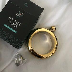 Jewelry - Brand New. Bangle Flask.